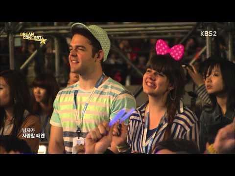 [hd] 130531 INFINITE - Man In Love @ Dream Concert by플로라