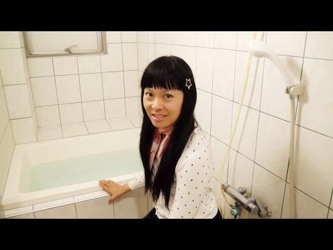 Salle de bains au Japon [Room Tour Kawasaki] Senmenjo, Aurora bath