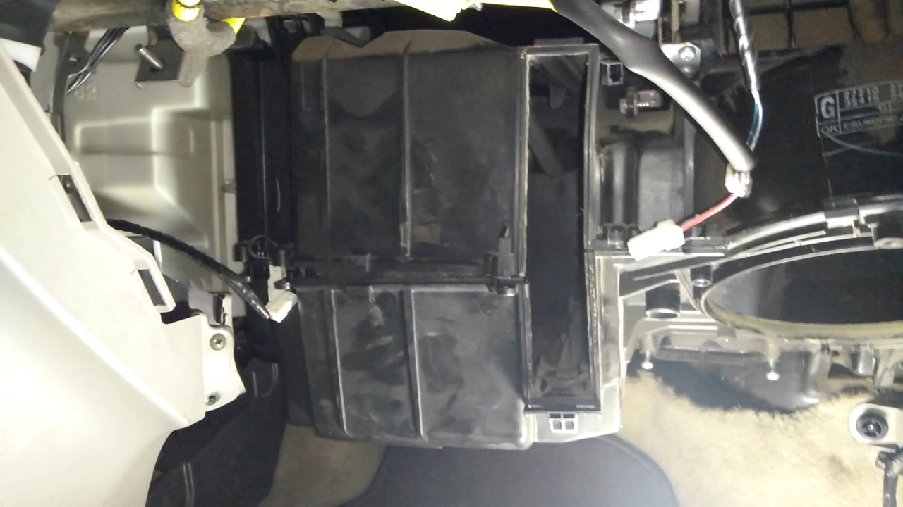 1993 Toyota Truck Fuse Box 2001 2003 Nissan Maxima Evaporator Core Replacement Notes