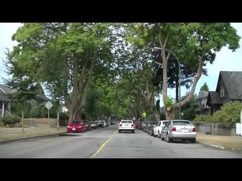 Driving to UBC via Grandview Highway - University of British Columbia - Vancouver Canada