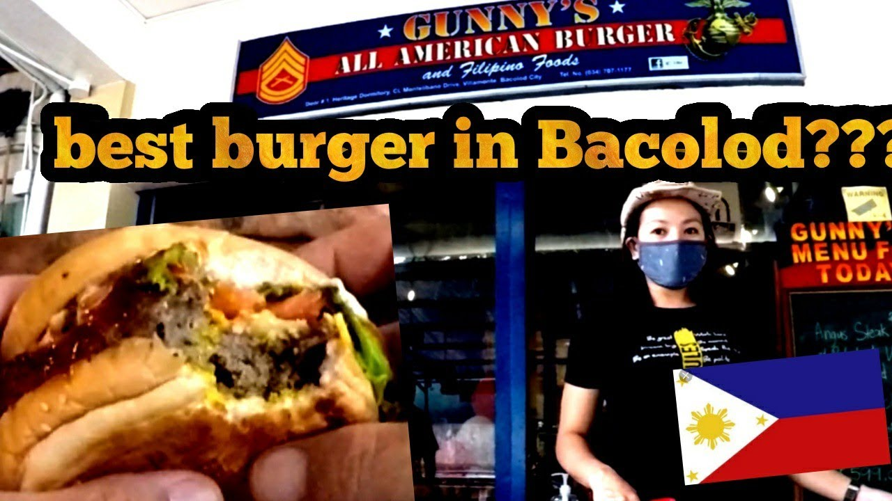 Is this the best burger in BACOLOD CITY PHILIPPINES?????