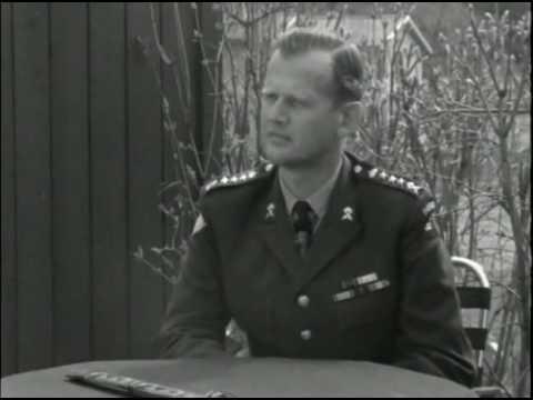 Kongokrisen - Intervju med överste Jonas Waern (SVT, 1962)