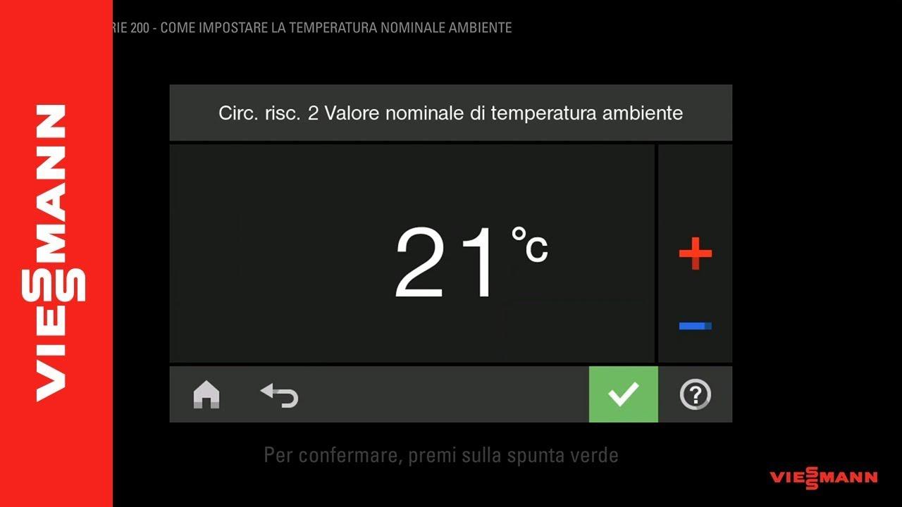 Temperatura Caldaia Impianto A Pavimento impostazioni caldaia a condensazione: qual è la temperatura