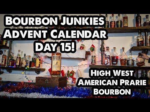 Bourbon Junkies Advent Calendar Day 15! High West American Prairie Reserve!