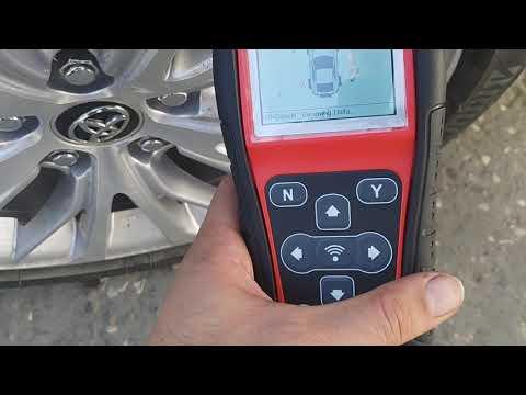 Уберем ошибку датчика давления шин Tpms  Camry V79