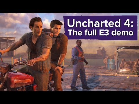 Uncharted 4 Gameplay - The Extended E3 2015 Demo