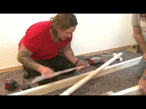 BAUHAUS TV - DIE WENDES Handwerker mit Herzblut - Folge 9: Projekt TV-Wall
