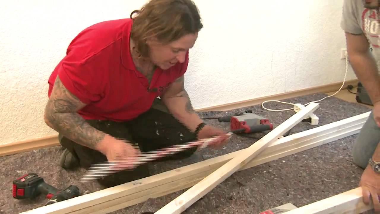 Bauhaus tv die wendes handwerker mit herzblut folge 9 projekt tv wall youtube - Steinwand bauhaus ...