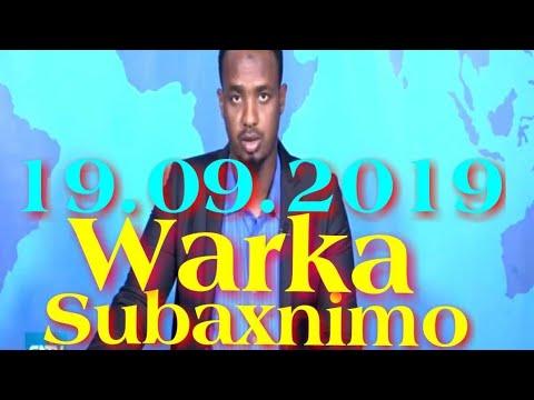 Warka Subaxnimo SNTV 19.09.2019