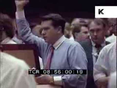 Late 1980s/ Early 1990s Stockbrokers, Bankers, Trading Floor