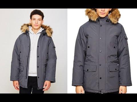 Carhartt WIP Anchorage Parka Jacket Grey