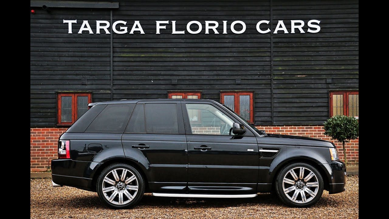 Range Rover Sport 3 0 SDV6 8 Speed Automatic in Sumatra Black with