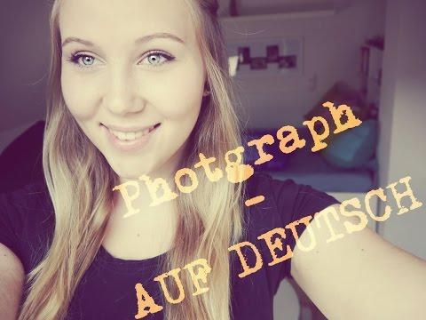 Photograph - AUF DEUTSCH !