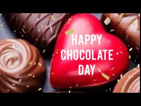 Happy Chocolate Day 2018|Chocolate Day Whatsapp Status Video|Happy ...