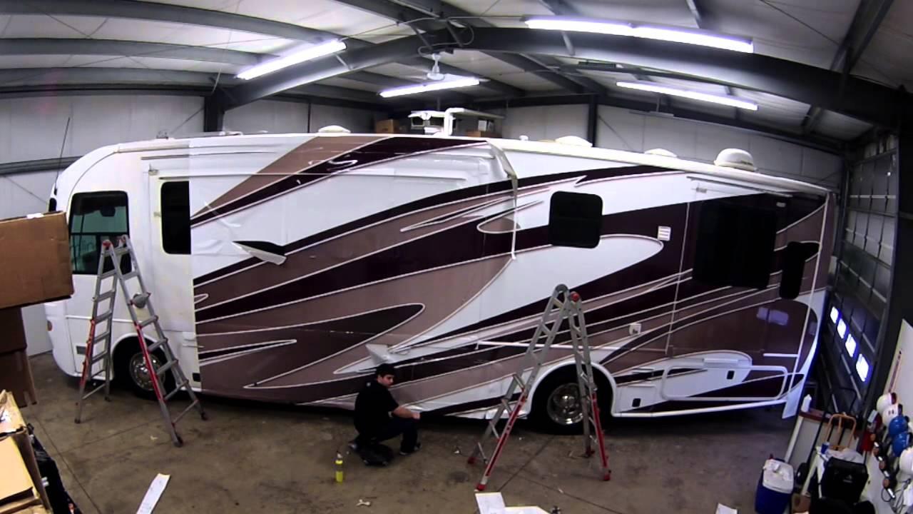 Cool RV Wraps  Camper Wrap  Tour Bus Wrap  Atlanta  Acworth