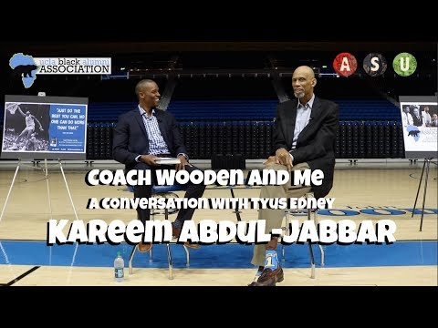 Kareem Abdul-Jabbar a Conversation w/ Tyus Edney | Coach Wooden and Me