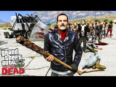 THE WALKING DEAD #19 ON VA CHERCHER LE DESTRUCTEUR ! (GTA 5 MODS)