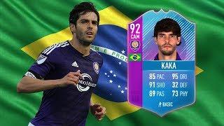 END OF AN ERA (92) KAKA PLAYER REVIEW - FIFA 18 Ultimate Team / Premium SBC Kaka