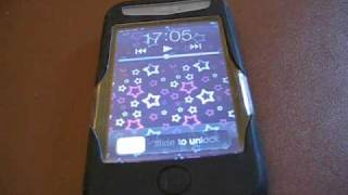 iSkin Revo2 Silicone Case black unboxing iPhone 3G