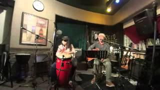 竹内ヨシヒコ&藤森るー2015 12 27 LIVE at リードカフェ ゲスト長...