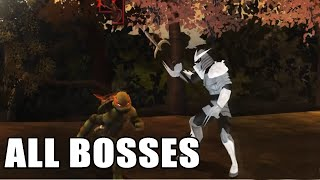 TMNT (video game) | ALL Boss Fights