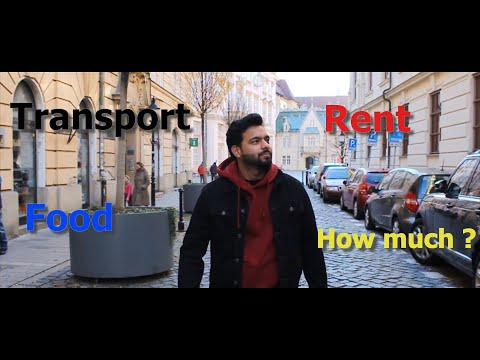 Cost of living in Slovakia || Food || Transport|| Rent