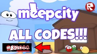 MeepCity: ALL THE CODES!!! [100% WORKING] [March 2017] (Roblox)