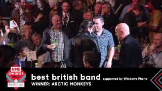 Arctic Monkeys Accept NME Award For Best British Band