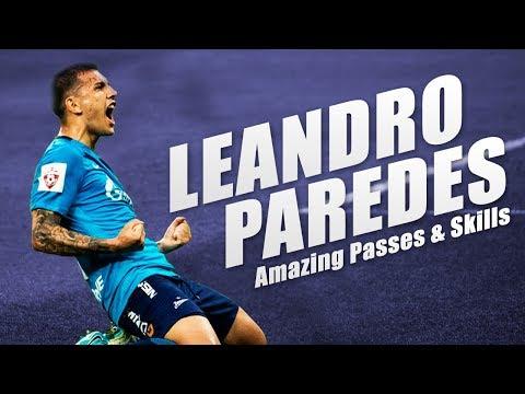 Leandro Paredes | Amazing Passes & Goals - Zenit - 2017/18 HD