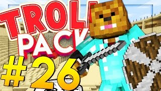 MODDED COLISEUM BATTLE - Minecraft TROLL PACK #26