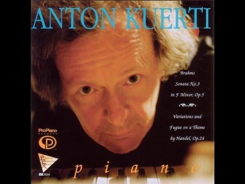 1. Sonata No 3 in F Minor, Opus 5: I Allegro maestoso, Anton Kuerti, Piano