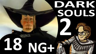 Let's Play Dark Souls 2 New Game Plus Part 18 - Dragonriders & Drangleic Castle