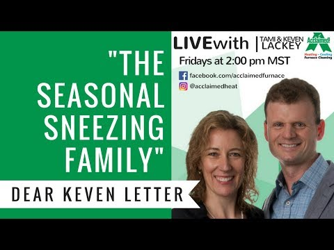 Dear Keven: Can Air Filters Help Allergies in the Summer?