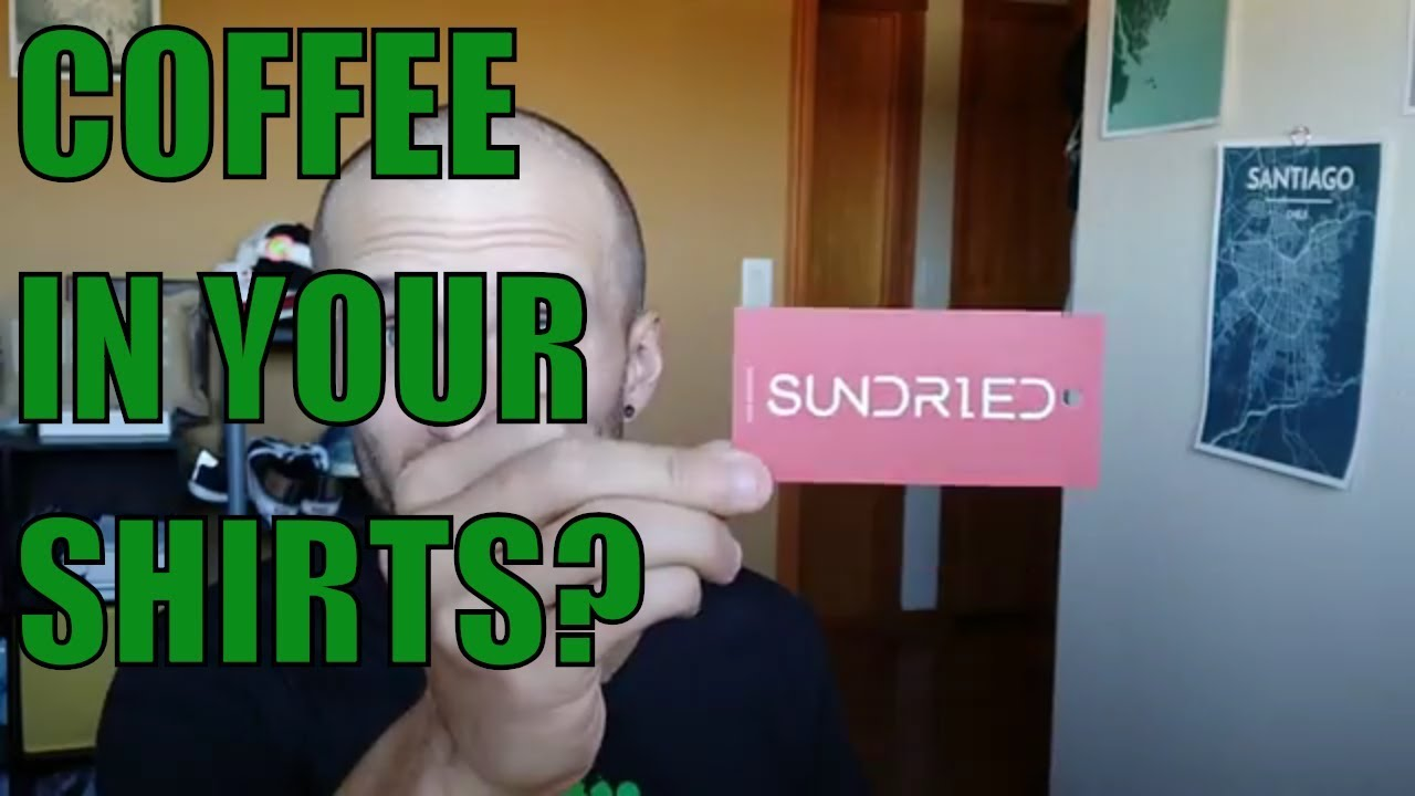 How Sundried and other companies are using coffee to make Athletic Apparel - YouTube