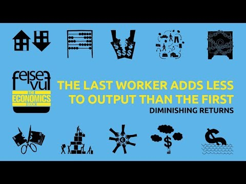 THE LAST WORKER ADDS LESS TO OUTPUT THAN THE FIRST