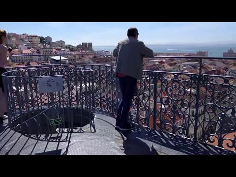 Elevador Santa Justa - View from the top - May 2017