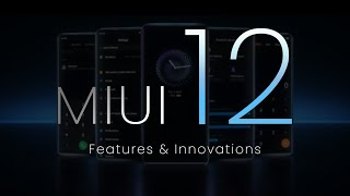 MIUI 12 Top 5 Features   MIUI 12 OFFICIAL - TEASING STARTED!!!