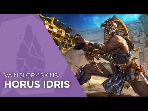 Vainglory Skins - Horus Idris (Update 2.8)
