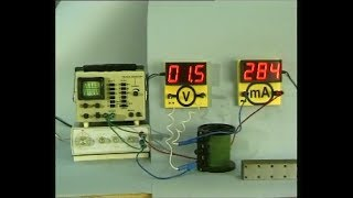 Опыты по физике. Индуктивное сопротивление в цепи переменного тока