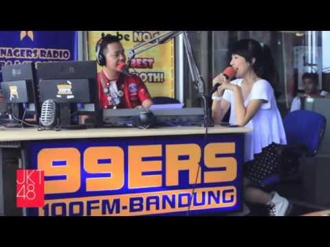 Interview JKT48 [Audio Only] on 99ers Radio 100 FM Bandung (Full Session) [27.02.2013]
