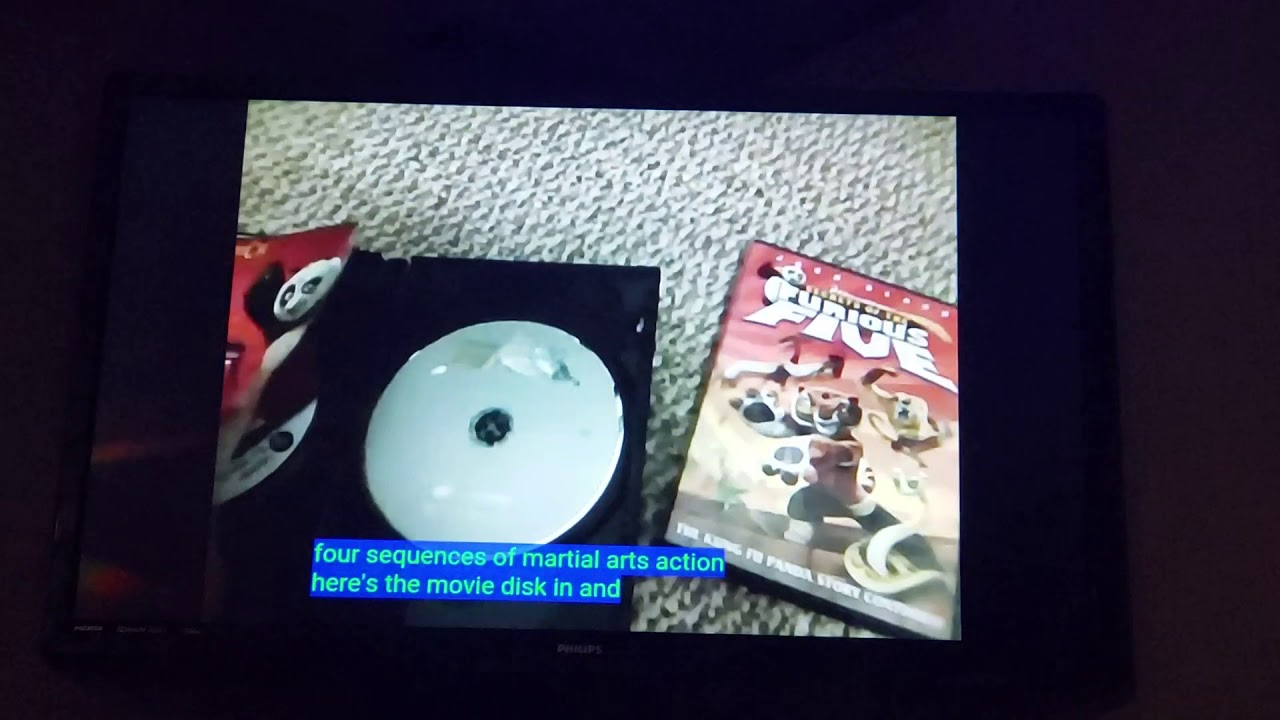 Download Kung Fu Panda Secrets of the Furious Five Double DVD Pack Unboxing
