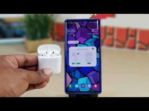 Using Apple Airpods 2 With Samsung Galaxy Note 10+...