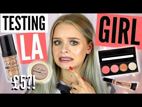 TESTING LA GIRL MAKEUP!! FAIL..   sophdoesnails