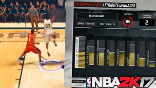 deadly sf shot creator 100k vc attribute boost first dunk mycareer nba 2k17