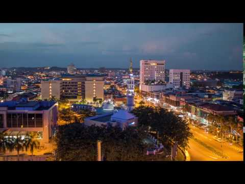 Night to Day Time-Lapse at Batam City Centre