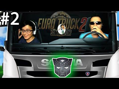 EURO TRUCK SIMULATOR 2 #2 | TRANSFORMERS OLDUK!