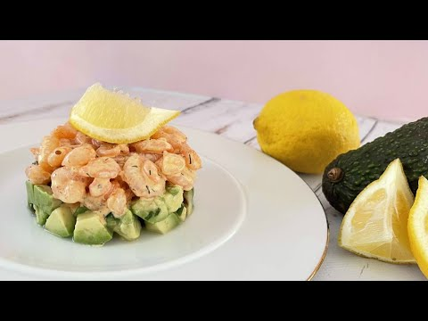 recette-de-noël-:-tartare-crevettes-avocat