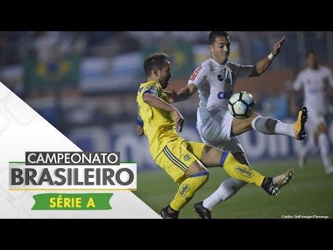 Melhores Momentos - Santos 3 x 2 Flamengo - Campeonato Brasileiro (02/08/2017)