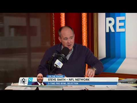 NFL Network Analyst Steve Smith on Terrell Owens Not Making Hall of Fame - 2/7/17