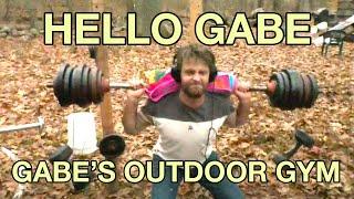 Hello Gabe: Gabe's Outdoor Gym